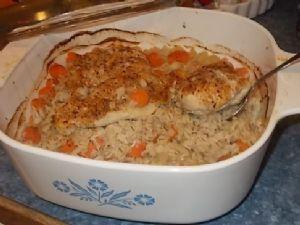 Chicken and Barley Bake