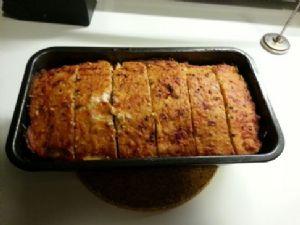 Lowcarb gluten free turkey meatloaf