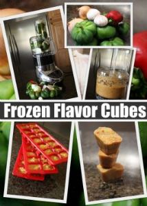 Savory Flavor Cubes