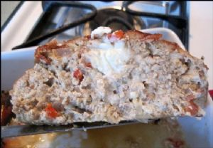 Pepper Jack Turkey Meat Loaf