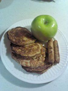 Marcia's Oatmeal Whole Wheat Pancakes
