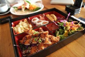 Bento- Teriyaki Chicken Crab