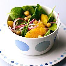 Moroccan Chickpea and Orange Salad
