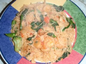 Homestyle Filipino Rice Noodle Stir-Fry