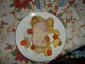 Pork Chop Foil Meal