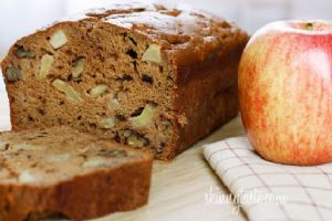 Skinny Applesauce Nut Bread