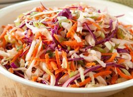 cole slaw blend (1 cup)