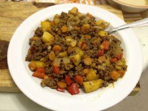 Mabel's Semi paleo Ground beef and veggies!