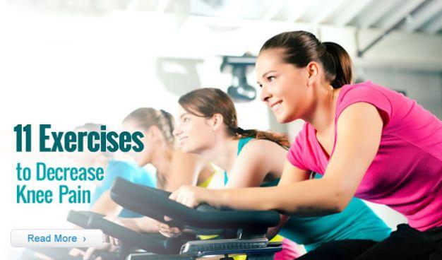 11 Exercises to Decrease Knee Pain