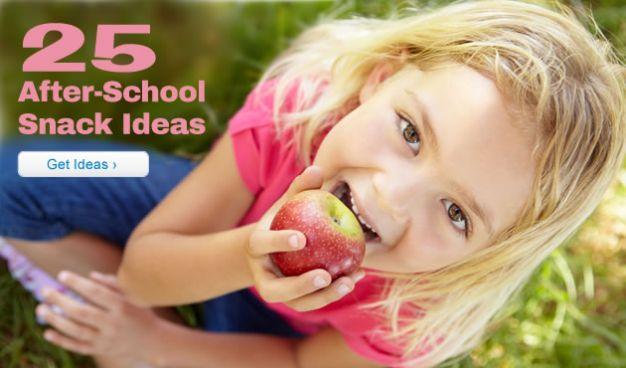 25 After-School Snack Ideas