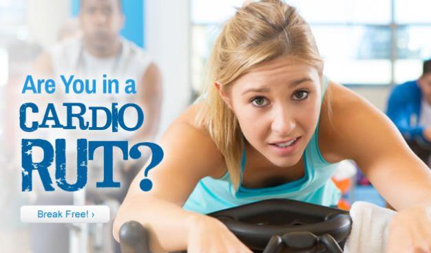 Are You in a Cardio Rut? Break Free!