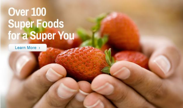 Over 100 Super Foods for a Super You