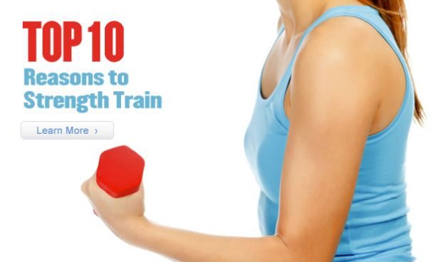 Top 10 Reasons to Strength Train