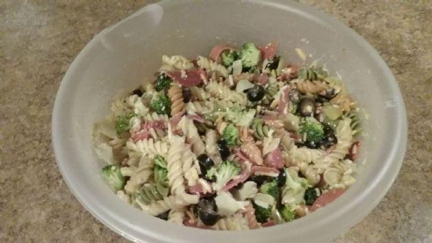 Broccoli - Turkey Pepperoni Pasta