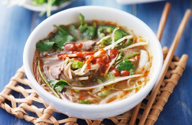 15-Minute Asian Beef Soup