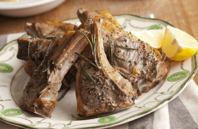 15-Minute Rosemary Lamb Chops