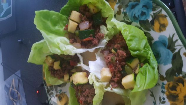 17 Day Diet, Cycle 1:  Chicken Lettuce Wraps