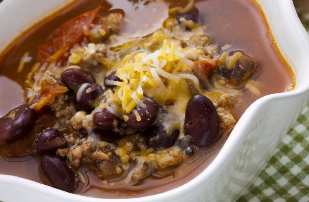 2-Bean Sweet Potato Chili