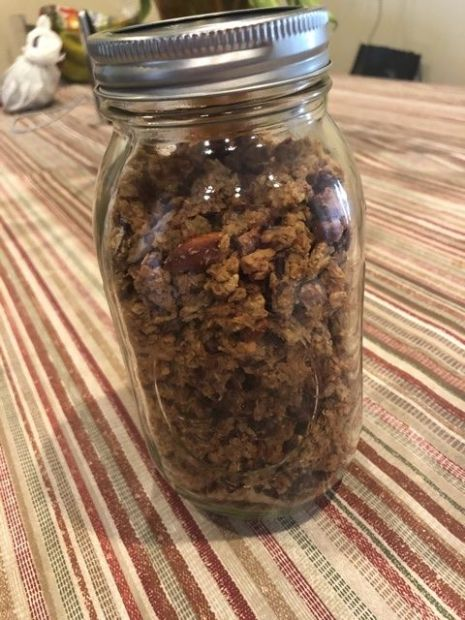 Low Carb/Sugar Granola