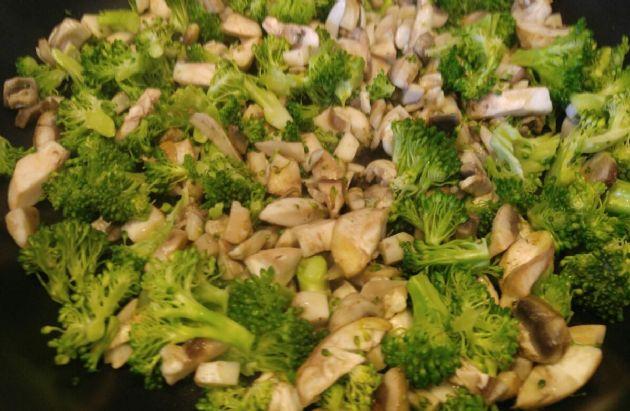 Broccoli Mushroom Frittata