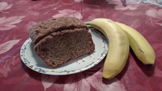 Banana Nut Bread (whole wheat)
