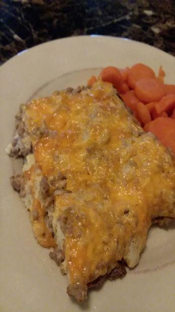 Hamburger Cauliflower Casserole