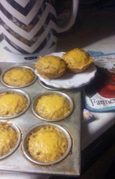 Quinoa chorizo muffins