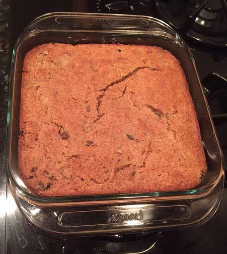 Alz Cranberry-Date Bran Cake