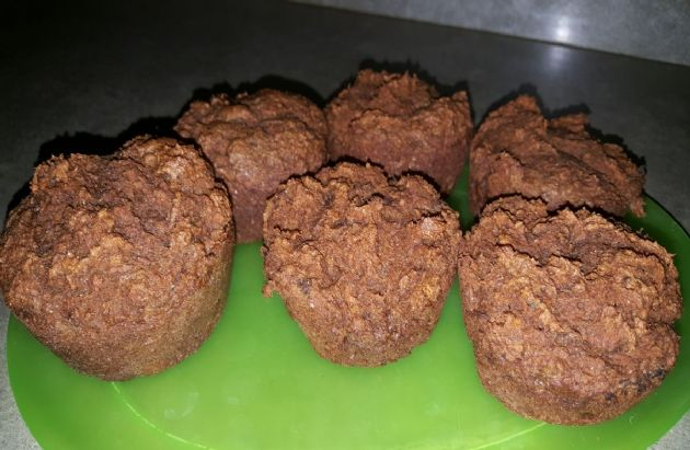 Apple Carrot Pulp Muffins