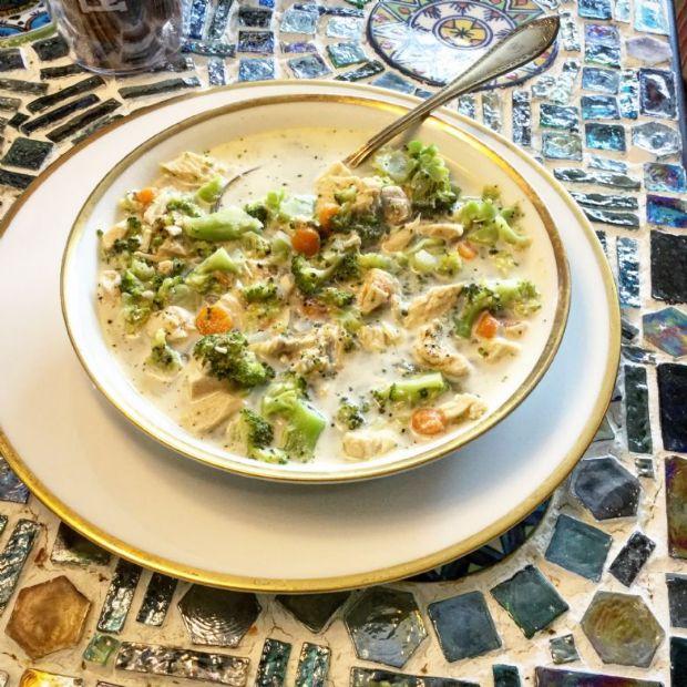 Artisan Broccoli Soup with Sour Cream