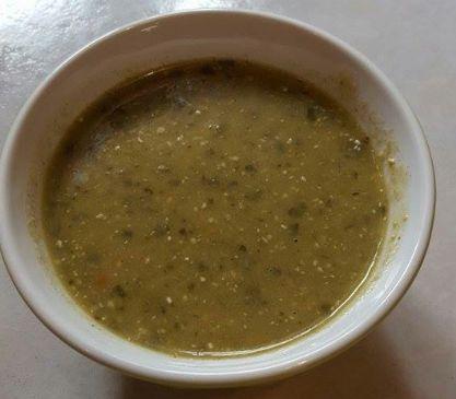 Asparagus Quinoa Soup