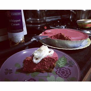 Au's No-Bake Red Velvet Cheesecake