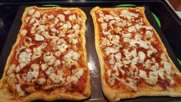 BBQ Chicken Crescent Pizza