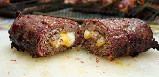 Bacon Cheeseburger Fatty