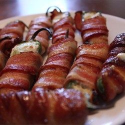Bacon Wrapped Chicken & Cream Cheese Stuffed Jalapenoes