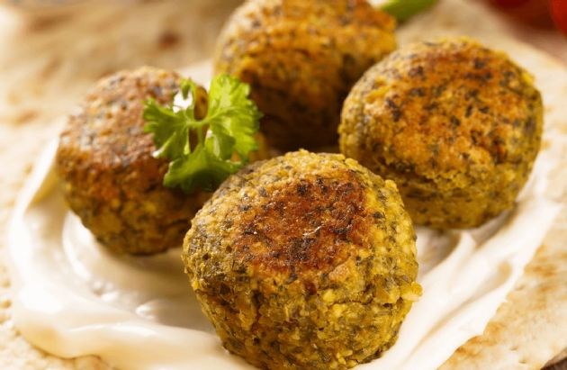 Baked Falafel Recipe | SparkRecipes