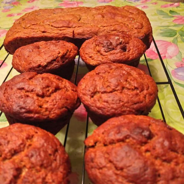 Banana Bread or Muffins (Gluten- and Grain-Free)