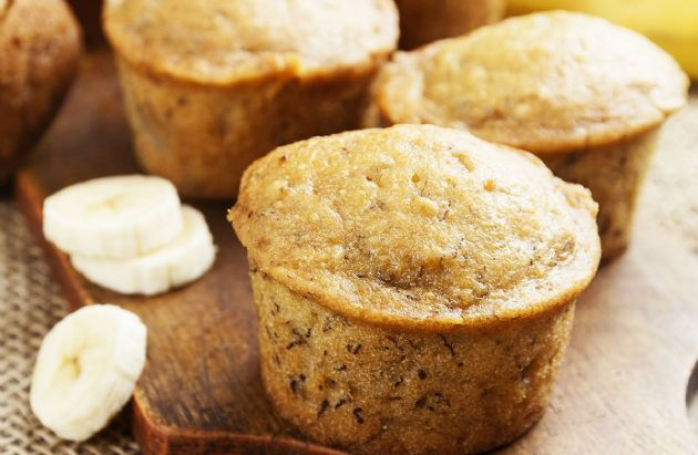 Banana Muffin (with Yogurt)