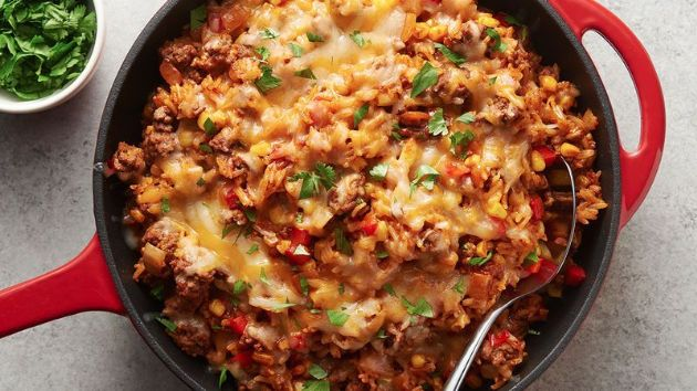 Beef - Mexican Taco Skillet