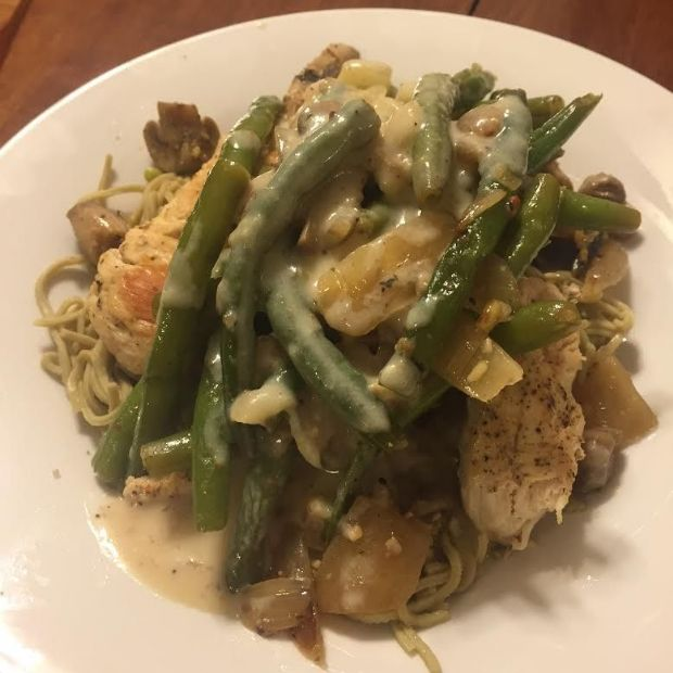 Beth's White Wine Sauce for Chicken or Fish