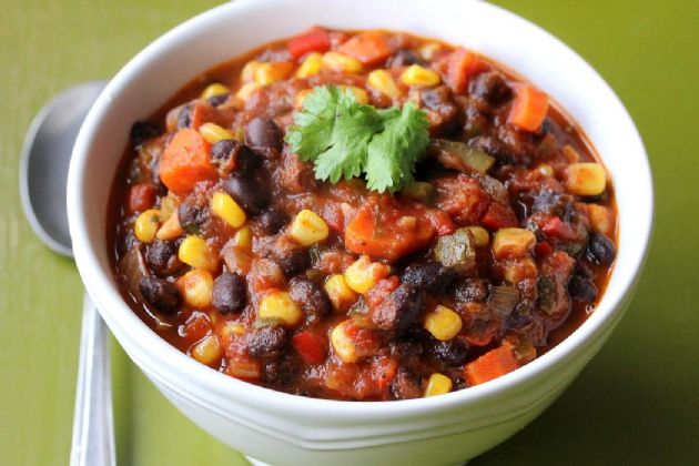 Black Bean And Vegetable Chili