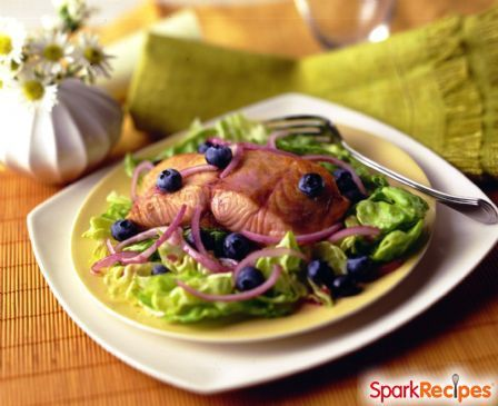 Blueberry Salmon & Rice
