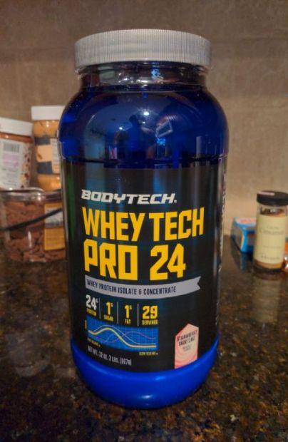 Bodytech Whey Tech Pro 24 shake