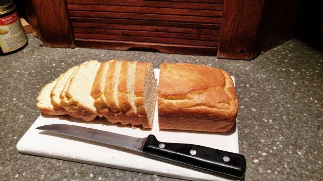 Bread with almond flour and coconut flour