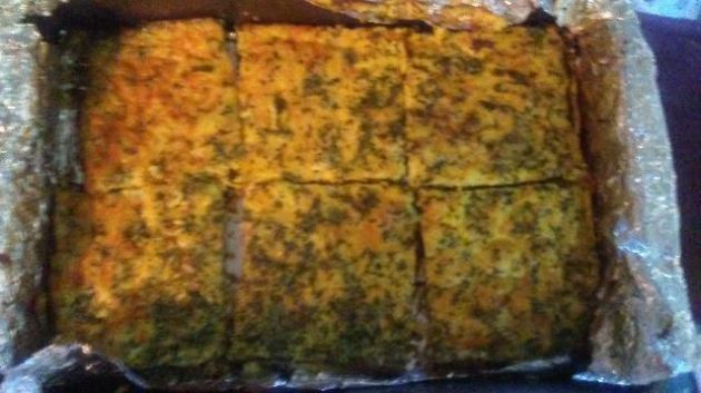 Breakfast Casserole with Veggies, Eggs and Cheese (No Meat)