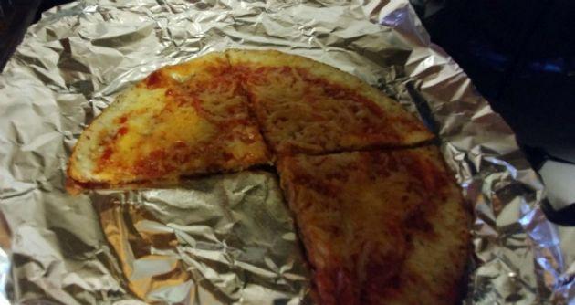 Brighteyes crustless pizza