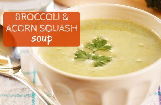 Broccoli Acorn Squash Soup