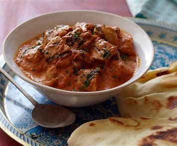 Butter Masala Chicken with Vegetables and Raisins