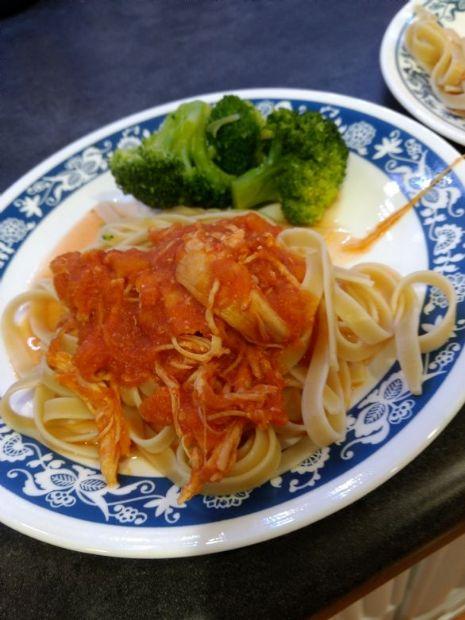 Butternut Squash and Tomato Chicken