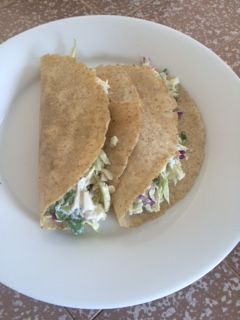 Carb Cutting Chicken Tacos